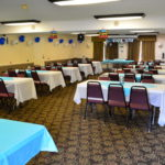 Image of banquet room at Bluegrass Extended Stay