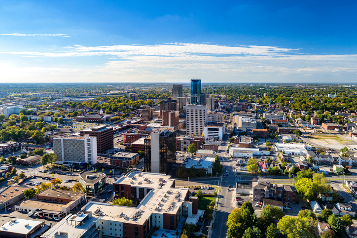 image of downtown Lexington, KY