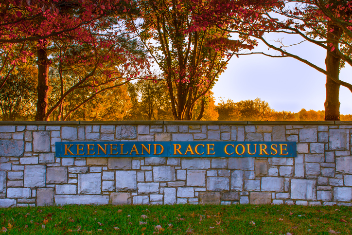 Image of entrance Keeneland