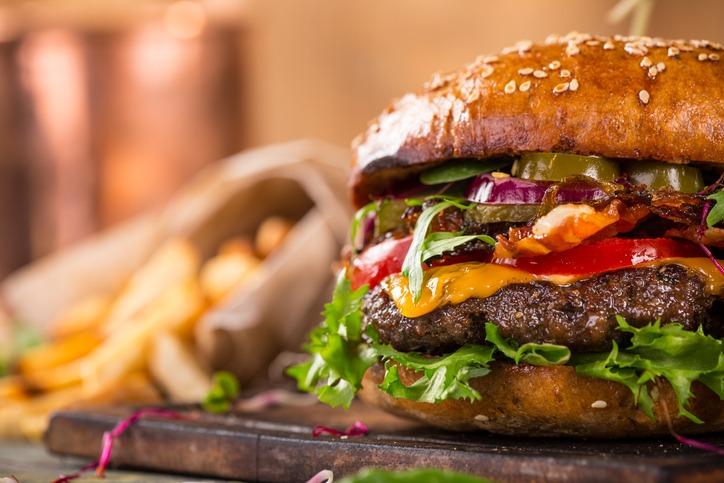 Image of a hamburger